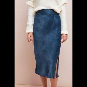 'Samantha' Jacquard Midi Skirt
